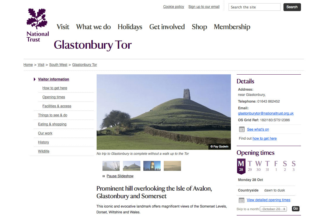 glastonburytor